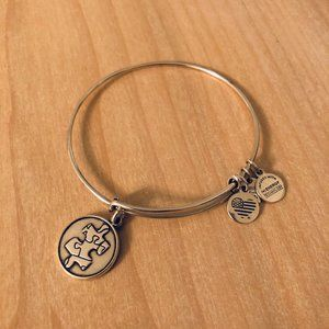 Alex & Ani Autism Awareness Bracelet
